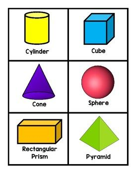 2d And 3d Shape Cards Assessment Tool 2d And 3d Shapes 3d Shape Shapes Flashcards