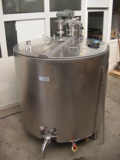 Vat Batch Pasteurizer El Interes
