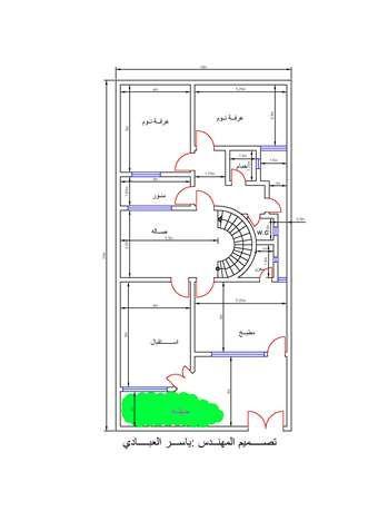 خرائط منازل صغيرة 150 متر Town House Plans House Map House Plan Gallery