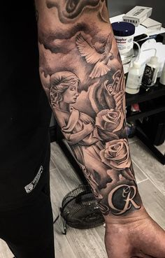 Sleeve Tattoo Ideas Golden Canvas Tattoo Art Studio Tattoos For Guys Badass Badass Tattoos Tattoos For Guys