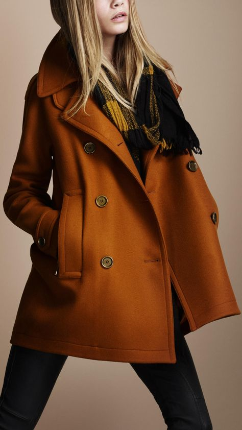 I would completely die for this Burberry Coat.. But then I couldn't wear it. Calm down becca.