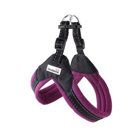 Doodlebone Boomerang Dog Harness Purple Dog Harness Dogs Purple