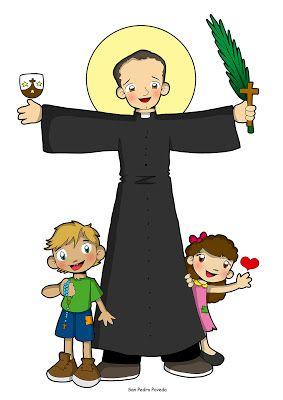 SAN PEDRO POVEDA | Sacerdote dibujo, Canciones de niños