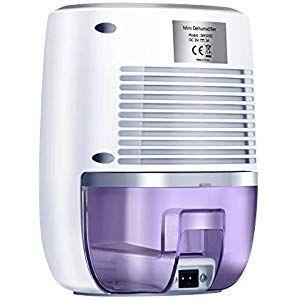 Latitop Luftentfeuchter Mit 500ml Wassertank Kompakter Und Tragbarer Mini Bautrockner Gegen Feuchtigkeit In Der Kuch Wassertank Luftentfeuchter Baby Badezimmer
