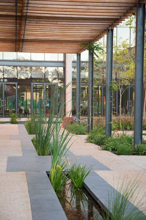 The Landscape Spaces Of Nelson Mandela Children S Hospital World