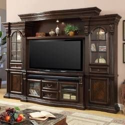 Friedlander Solid Wood Entertainment Center For Tvs Up To 70 Medienmobel Home Entertainment Wohnzimmer Tv Wand Ideen
