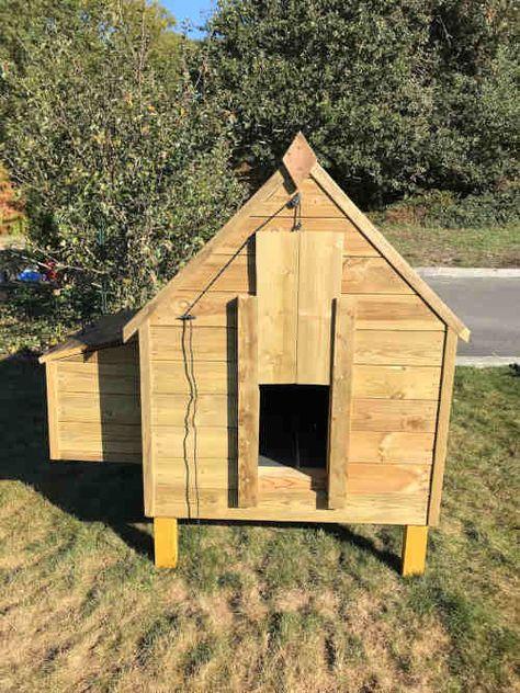 Plan Poulailler 15 Poulaillers A Construire Soi Meme Plans En Pdf En 2020 Plan Poulailler Construire Un Poulailler Poulailler
