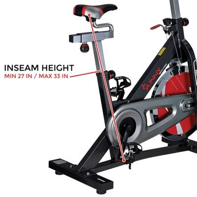 Sunny Health And Fitness Sf B1401 Indoor Cycling Bike Dark Gray Indoor Cycling Indoor Cycling Bike Cycling Bikes