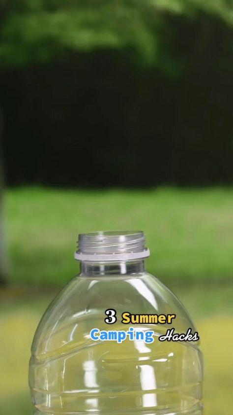 Outdoor summer camping mature hacks idea