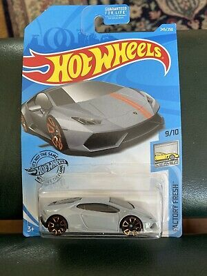 Hot Wheels 2020 HW Factory Fresh Gray Lamborghini Huracan