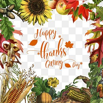Beautiful Thanksgiving Day Frame Thanksgiving Day Beautiful Vintage Png Transparent Clipart Image And Psd File For Free Download Clip Art Holiday Illustrations Leaf Clipart