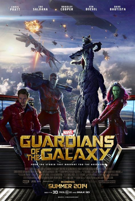 Guardians of the Galaxy (2014) - Theatrical Poster by CAMW1N on DeviantArt