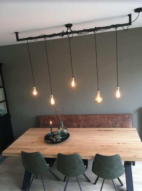 Leuk Voor Boven De Tafel In De Keuken Of In De Gang De Enige Echte Originele En Handgemaakte Lightbar Vind Je In 2020 Woonkamerverlichting Huis Interieur Home Deco