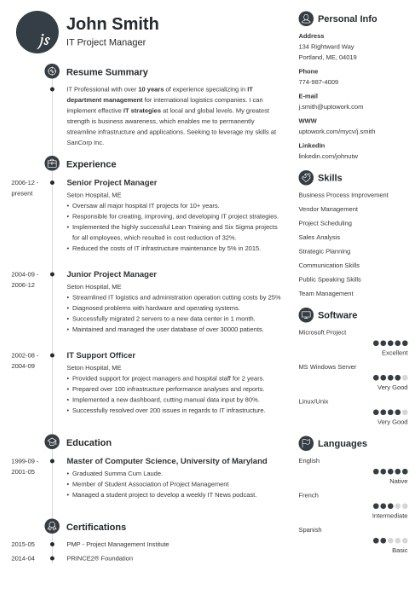 How To Create A Stand Out Tech Resume Springboard Blog