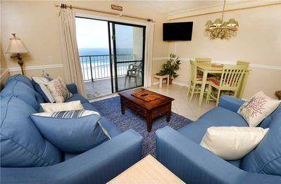 Summit 828 1 Bedroom Beachfront Pool Sleeps 7 Panama City Beach Panama City Beach Beachfront Beach Condo