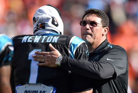Ron Rivera let Cam be Cam, and that's great news for Dwayne Haskins