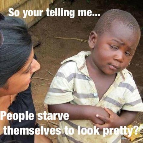 Skepticle Third World Kid -meme   Capitalism is Freedom