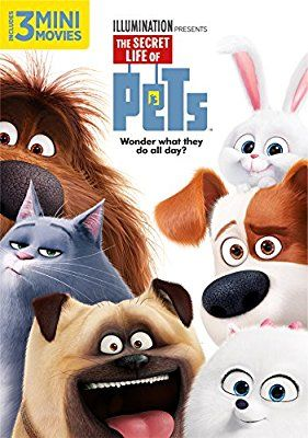 Amazon Com The Secret Life Of Pets Louis C K Eric Stonestreet Kevin Hart Jenny Slate Ellie Kemper Lake Bell Dana Carvey Secret Life Of Pets Pets Movie