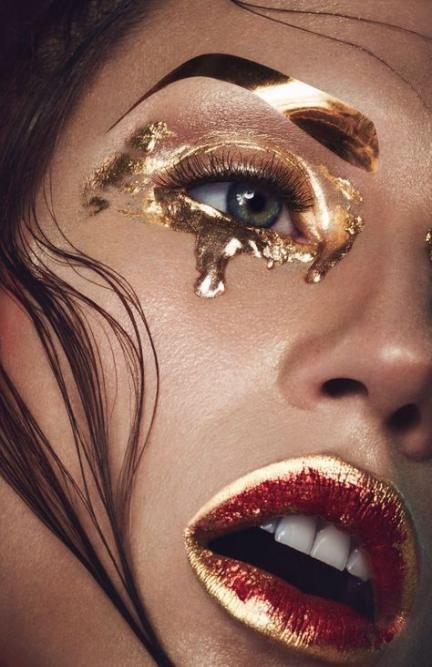 Newest Photo Creative Makeup Gold Strategies With Images