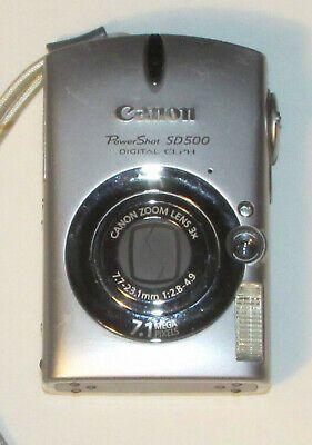 Canon Powershot Sd500 Digital Ixus 700 7 1mp Digital Digital Camera Powershot Canon Ixus