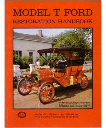 1909 1925 1926 1927 Ford Model T Restoration Handbook Shop Service