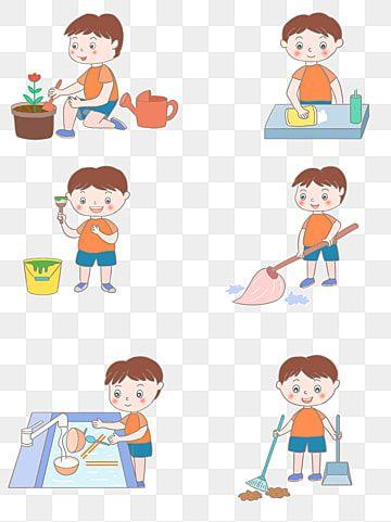 Cartoon Little Boy Haciendo Tareas Domesticas Vida Vector Material Imagenes Predisenadas De Nino Dibujos Animados Chico Png Y Psd Para Descargar Gratis Png ในป 2021 การ ต น ภาพต ดปะ ไอเด ยสต กเกอร