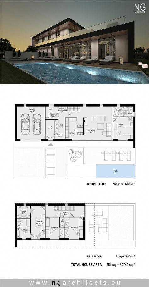 Modern Railing Balcony Design For Home Modernhomedesign Contemporary House Plans Architecture Plan Dream House Plans