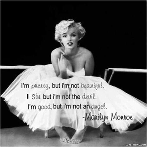 Marilyn Monroe Quote Pictures, Photos, and Images for Facebook, Tumblr, Pinterest, and Twitter