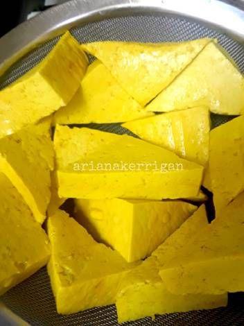 Resep Tahu Kuning : resep, kuning