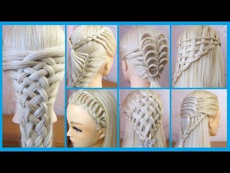 Tuto 7 Coiffures Simples Et Belles Cheveux Longs Mi Longs