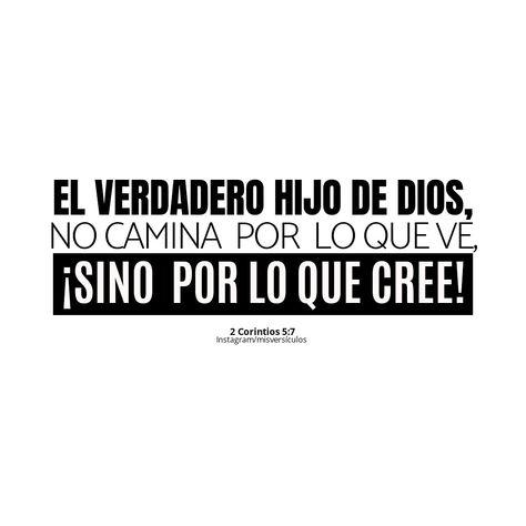 2 corintios 5:7