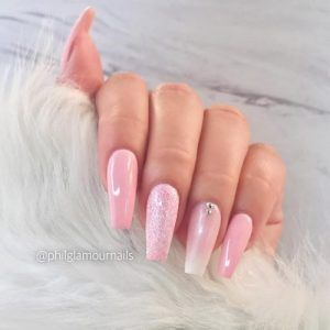 33+ Cute winter nail designs for girls in 2019