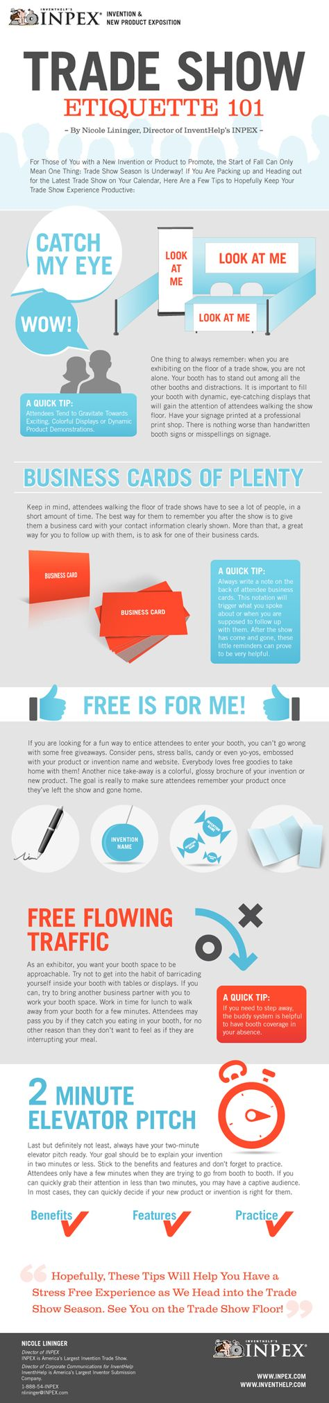 6 #Trade Show Networking Tips Every Entrepreneur Should Know [ #infographic ]