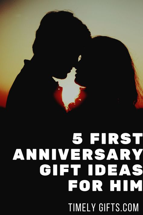 Check out these great first anniversary gifts for him ideas? This article will have some cute ideas to give to your husband to celebrate your 1st wedding anniversary. Check out these adorable gift ideas for your 1st anniversary. #firstanniversary #giftsforhim #husbandgifts #husbandwife #mrmrs #himhergifts #ideas #couplegifts #touchinggifts #fungifts #greatgifts