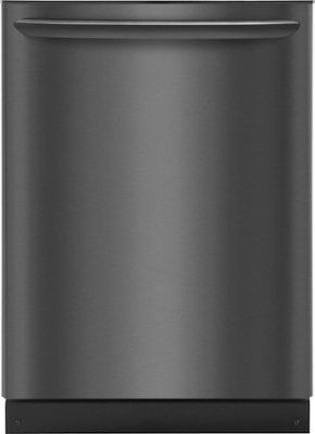 Frigidaire 25 6 Cu Ft Side By Side Refrigerator Black Stainless Steel Ffss2615td Best Buy Black Dishwasher Built In Dishwasher Frigidaire Gallery