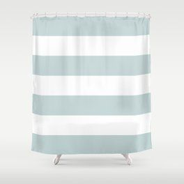 Blue And White Striped Shower Curtain Shower Curtain Curtains