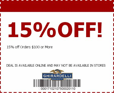 Ghirardelli Printable Coupon 2017 u2013 At Ghirardelli, our rich - printable vouchers