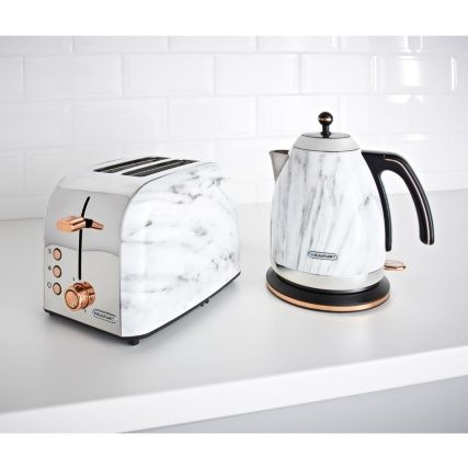 Blaupunkt Marble Effect Kettle Kettle And Toaster Kitchen