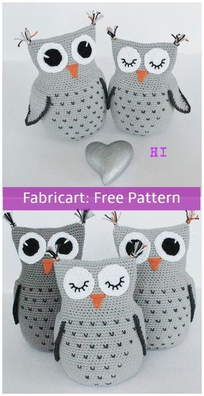 Crochet Baby Owls Pattern Video Lots Of Cute Ideas | 562x290