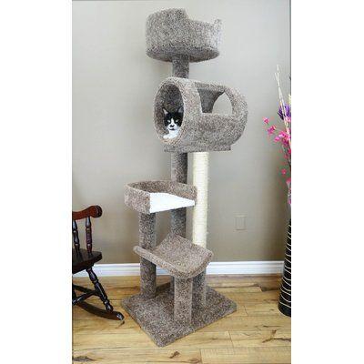 Archie Oscar Haviland Climbing Tower Cat Condo Cat Condo Cat Furniture Pet Furniture