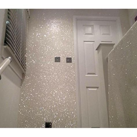 Silver 150g My Glitter Wall Glitter For Emulsion Paint