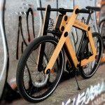 Sandwichbike Holzfahrrad Zum Selbst Zusammenbauen Holzfahrrad