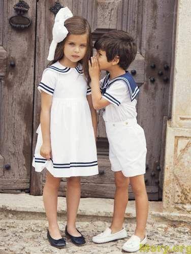 صور ملابس اطفال موديلات حديثة ملابس اطفال بنات و ملابس اطفال اولاد موقع مصري Kids Outfits Childrens Clothes Sailor Dress