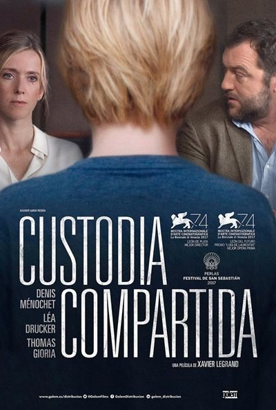 Póster De Custodia Compartida Jusqu à La Garde Custodia Compartida Película Francesa Cine De Barrio