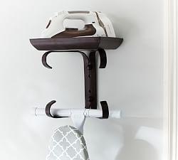 Galvanized Laundry Drying Rack Ironing Board Hanger Laundry