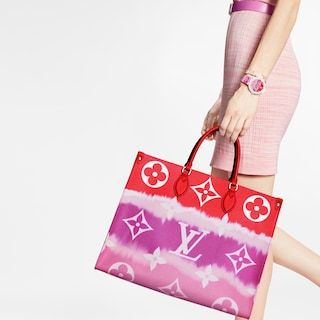 Lv Escale Onthego Gm In 2020 Monogram Handbag Louis Vuitton Handbags Handbags