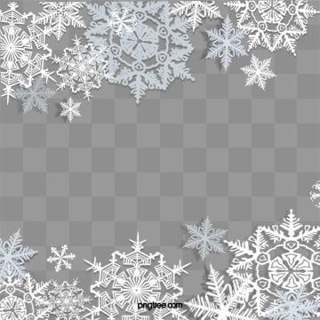 The Element The Snow Snowflakes Png Transparent Clipart Image And Psd File For Free Download Christmas Snowflakes Background Frame Clipart Snowflakes