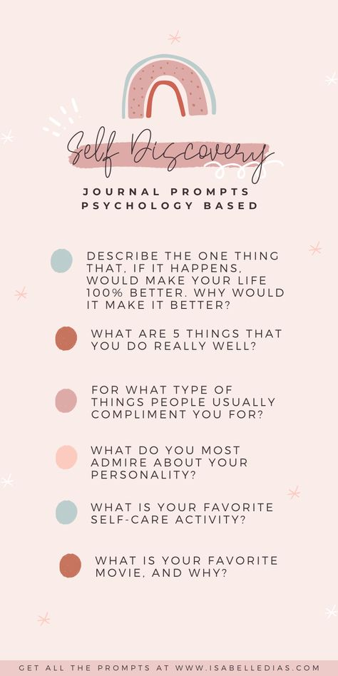 Looking for self discovery journal prompts? So you will definitely want to check out my questions for personal development! They are self help and mental health based, the perfect place to start your self exploration journey!