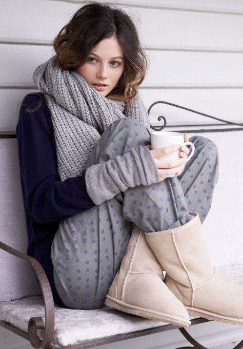 Look idéal pour les dimanches d'hiver