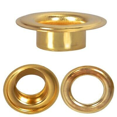 Details About Grommets Washers 1000 2 3 8 Brass Eyelet Die